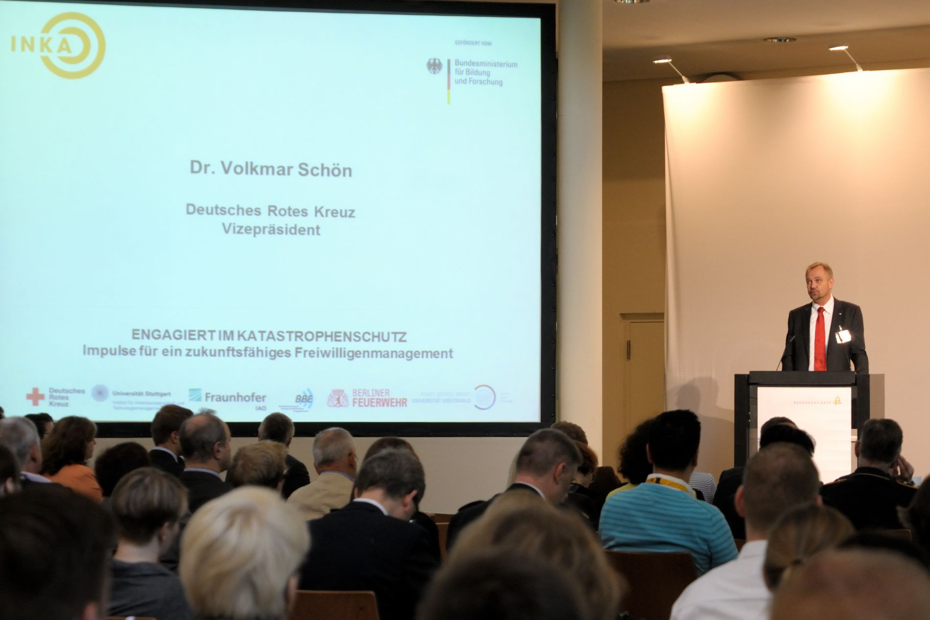 September 23rd 2015 - INKA closing conference Dr. Schön (GRC vice president)
