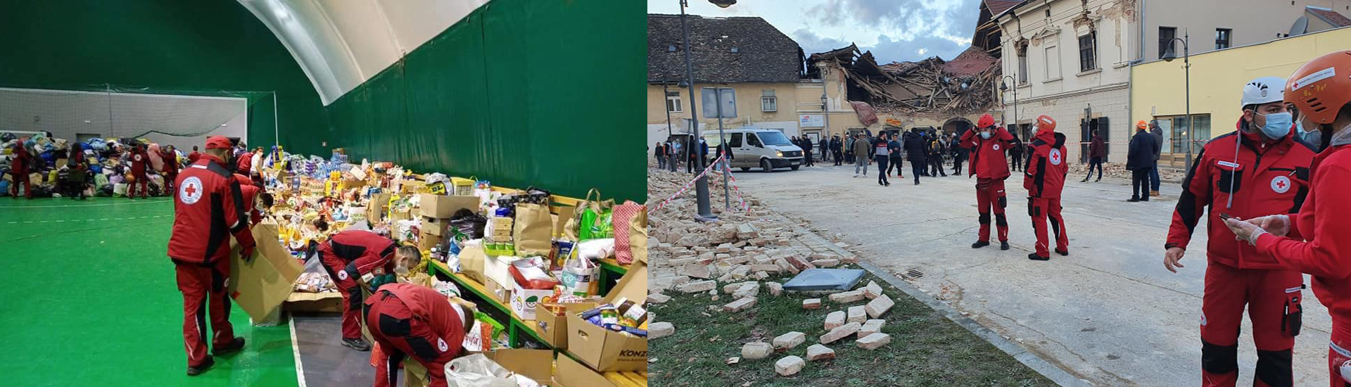 Earthquake in Croatia: GRC delivers tents and hygiene kits