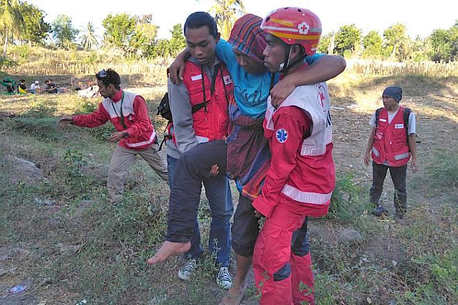 Lombok_Hilfe nach dem Erdbeben