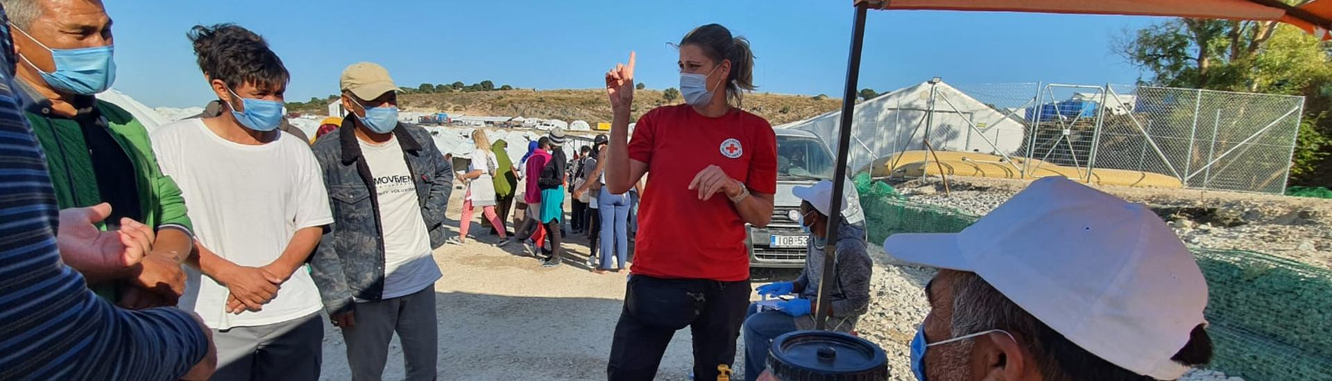 Greece: Assistance on the island of Lesbos