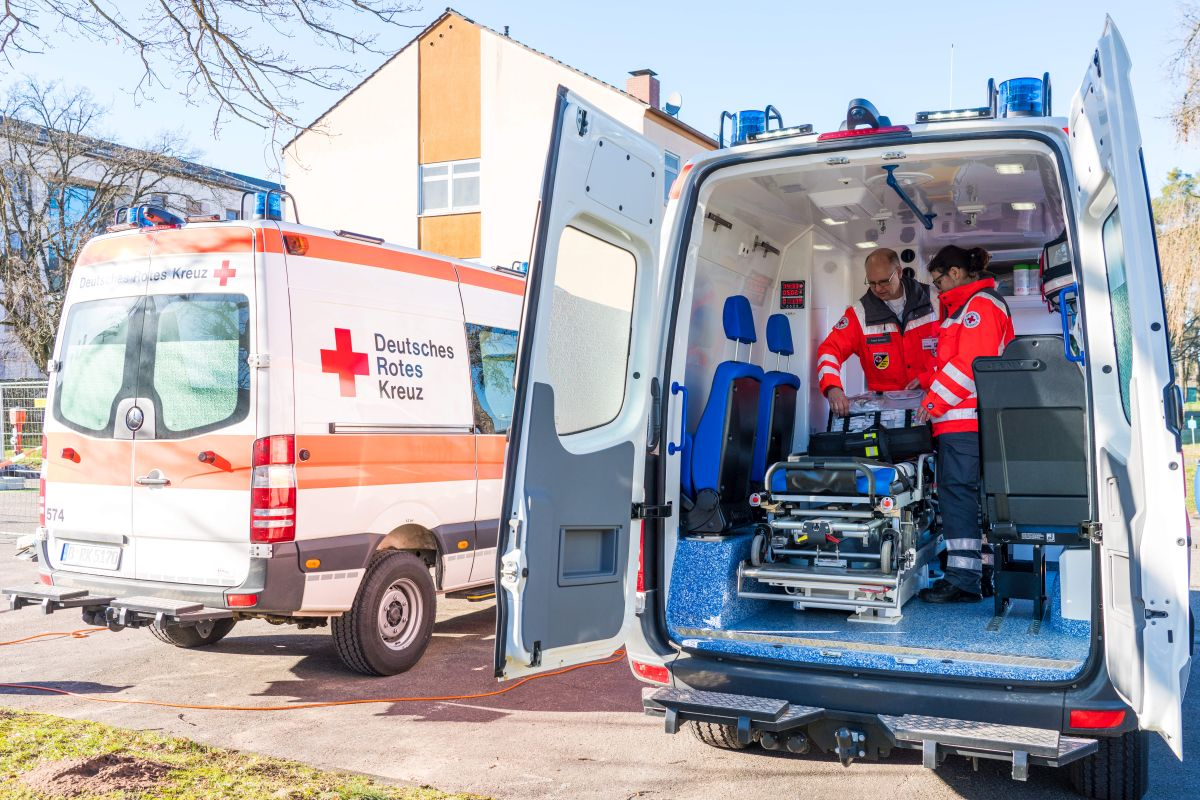 Krankenwagen in Germersheim