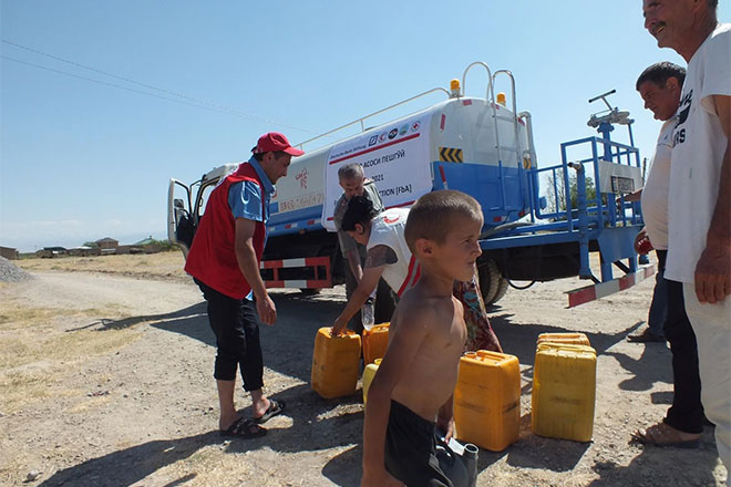 Water supply during heat waves, funded by the Deutsche Bank Foundation