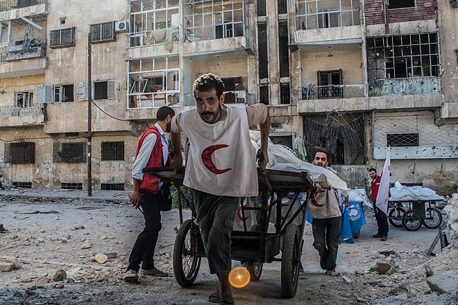 Lage in Aleppo wird verzweifelter