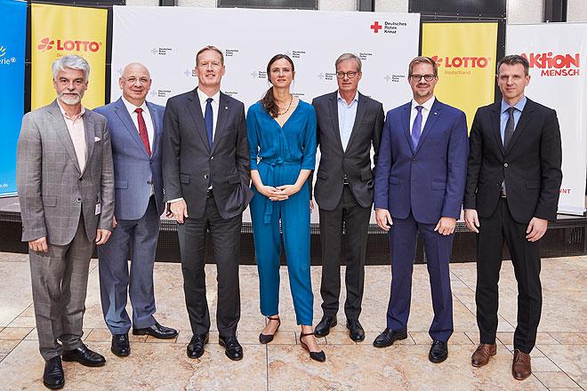Pressekonferenz zum Lotto-Prinzip